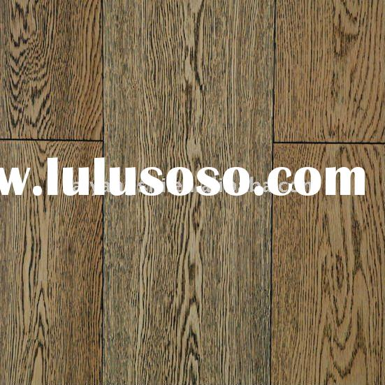 Multi Engineered White Oak Wood Parquet Floor