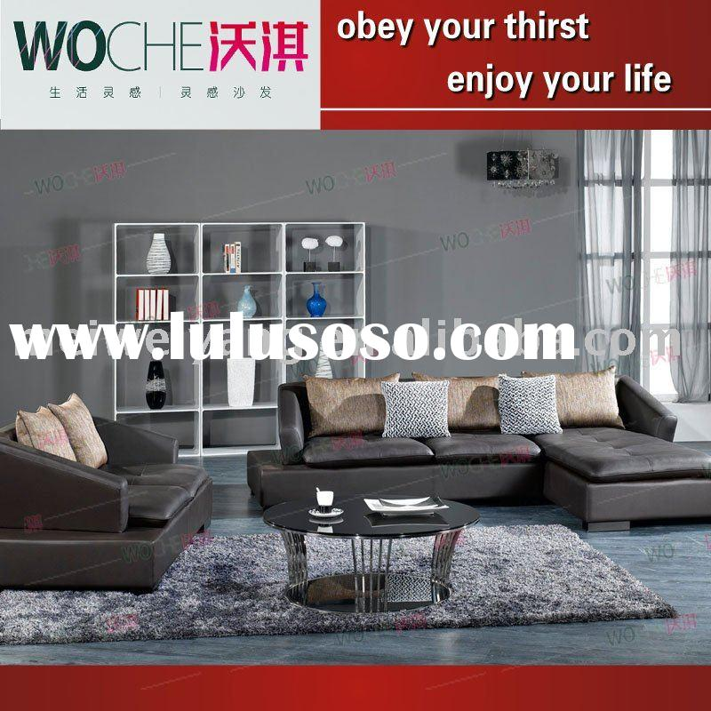 New style modern top quality leather sofa(MJ816)