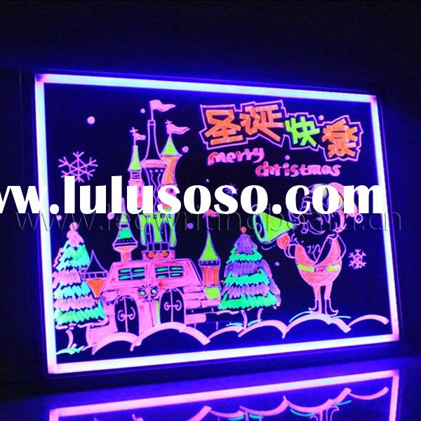 New technology LED Writing Board with Remote Controller singapore Supplier