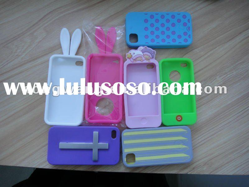 Newest Hot sell fashion silicone mobile phone case