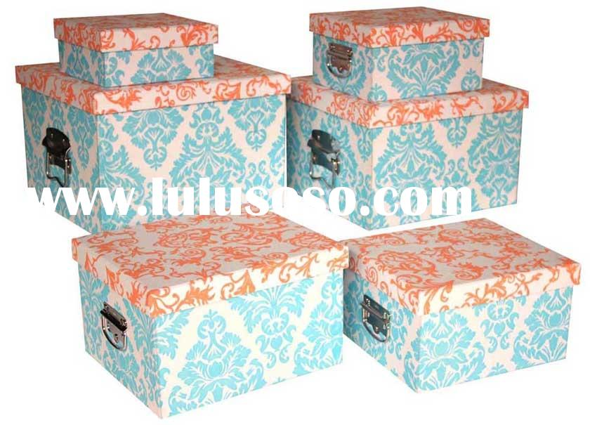 Pink Fabric Storage Boxes Bins, Pink Fabric Storage Boxes Bins