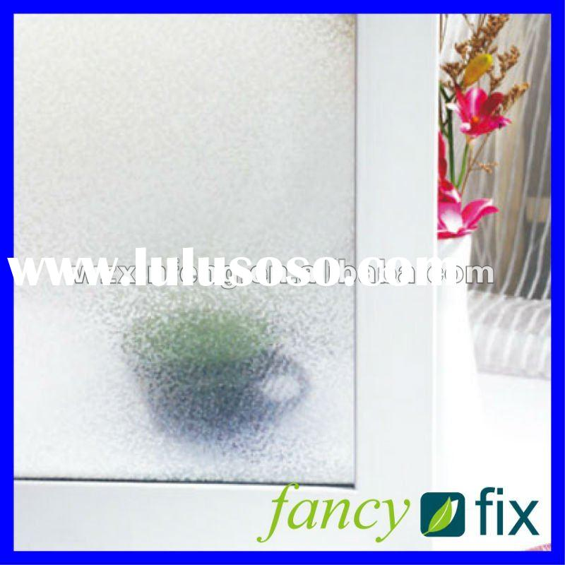 Non-adhesive static window film