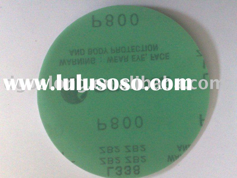 OSLONG L338 self-adhesive Film-Backed discs sandpaper(abrasive disc)(velcro disc)(abrasive paper)(sa