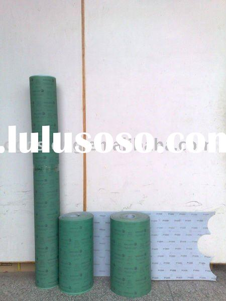 OSLONG L338 self-adhesive Film-Backed sandpaper(abrasive disc)(velcro film abrasive paper roll)