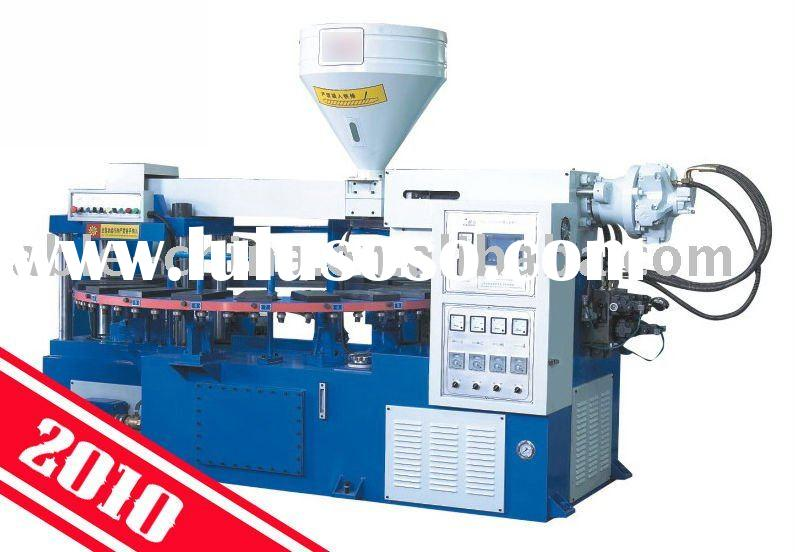 One-color full automatic Disc Plastic Cement Sole Injection Moulding Machine