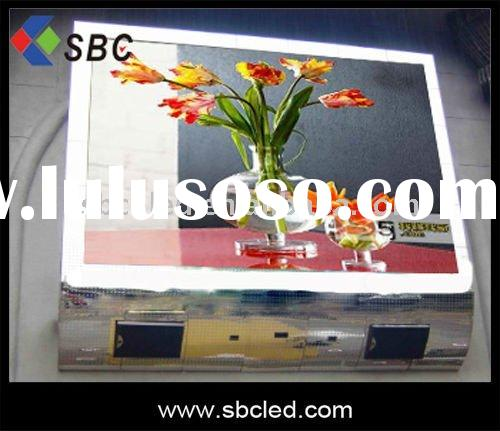 Outdoor full color lcd led tv display screen