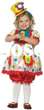 PCN-0398 fancy children costume, carnival costume, Halloween Costume, clown costume