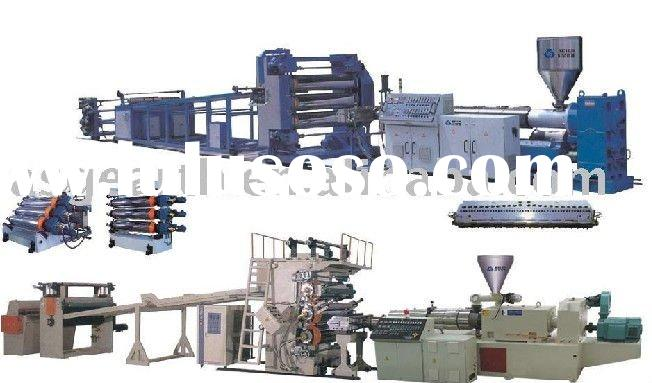 PP,PE,PS,ABS,PVC sheet extrusion line