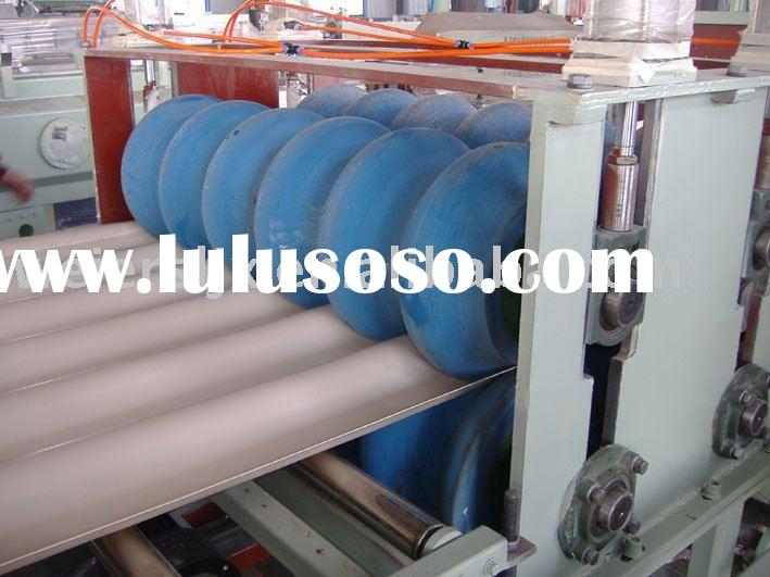 PVC Corrugated Roofing Plate/Tile/sheet Extrusion Line---Plastic Machine