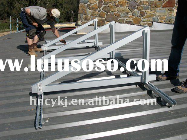 PV solar flat roof mounting system