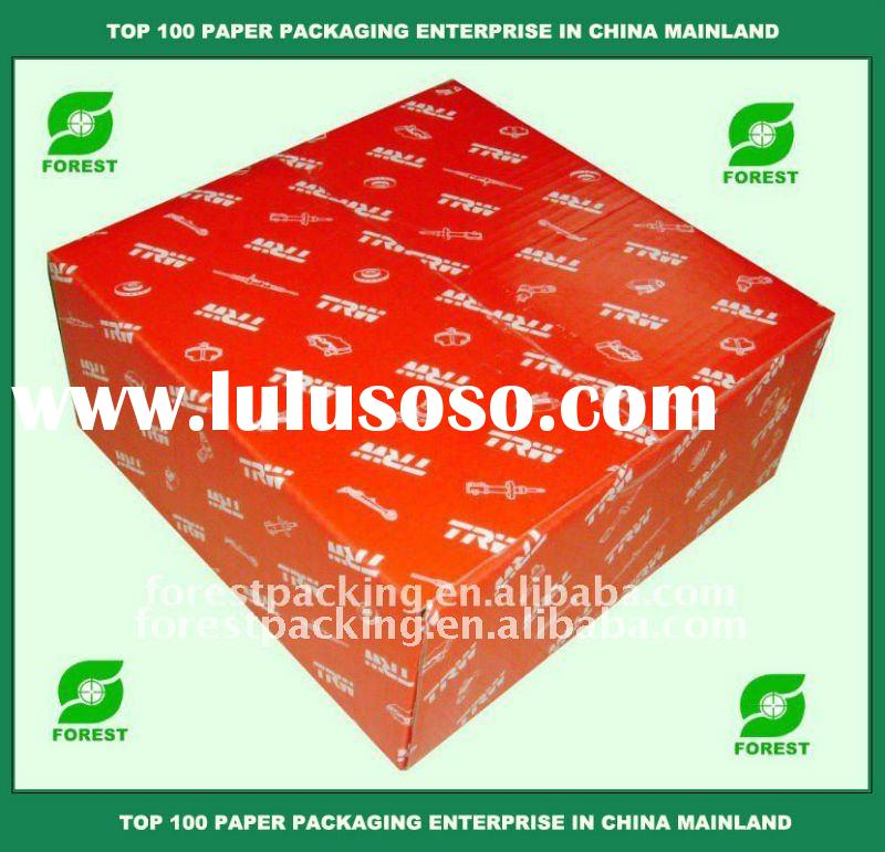 Paper color box printing corrugated box