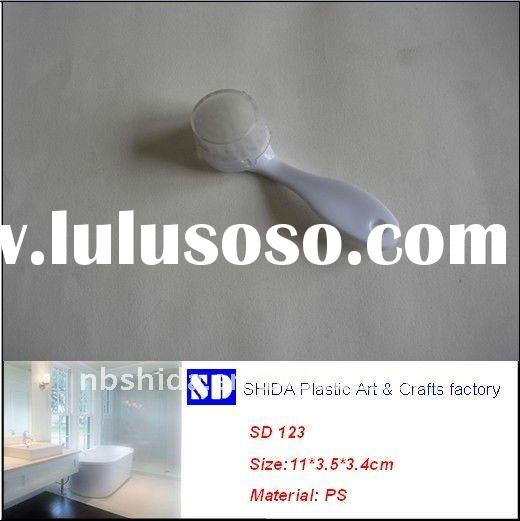 Plastic Facial Cleaning Brush with colored handle