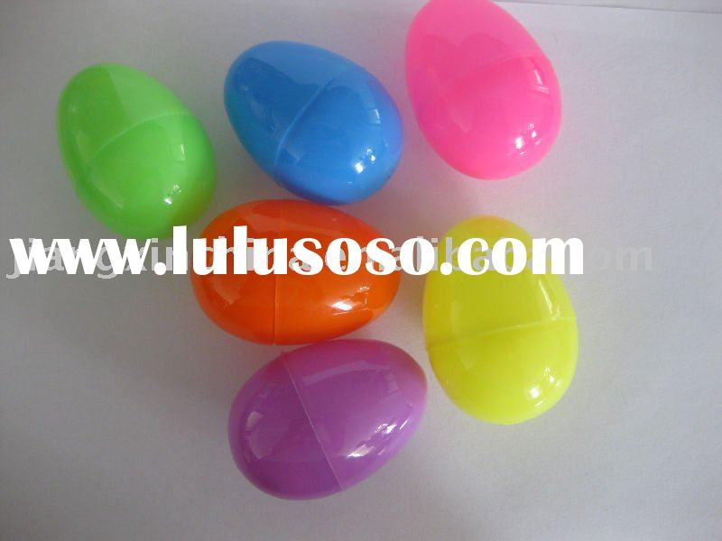 Plastic PP colorful easter eggs promotion mini eggs for decorating
