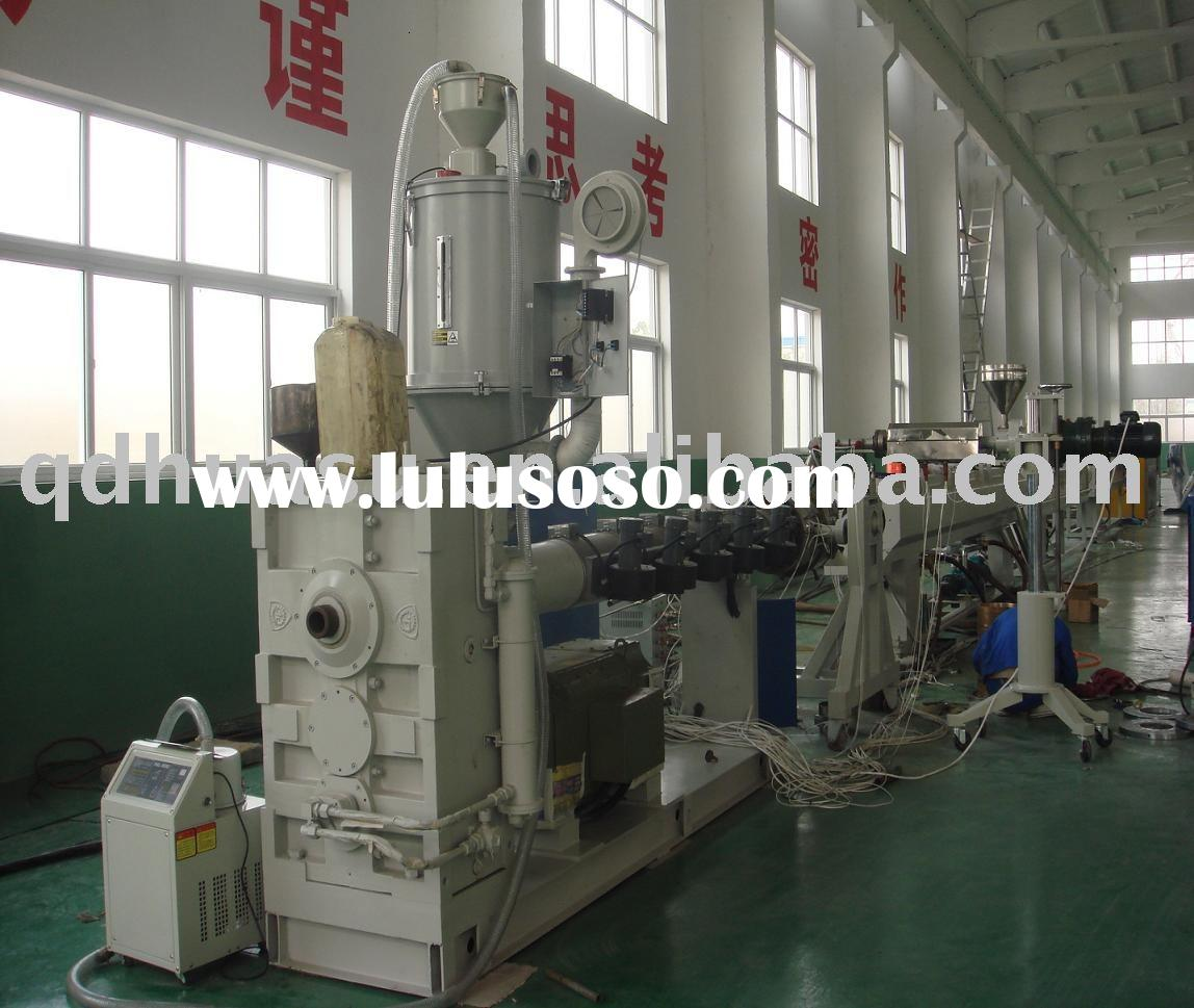 Plastic Pipe Production Line_PE/PP/PPR/PEX Water Supply/Gas Distribution Pipe Extrusion Production L