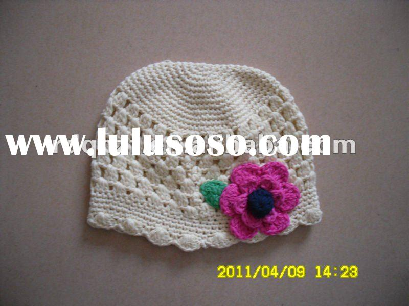 Crochet Cotton Chemo Hats Patterns