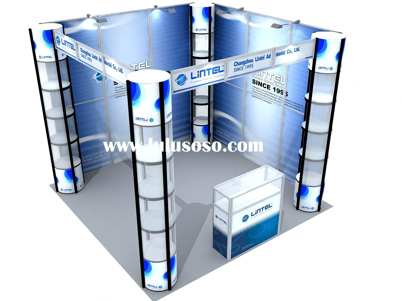 Portable Exhibition Booth Display 3*3m Standard Booth (LT-ZH004)