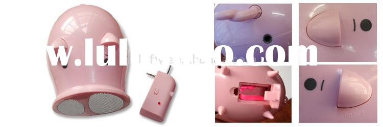 Portable PIG Speaker for iPod/PC/MP3 Players