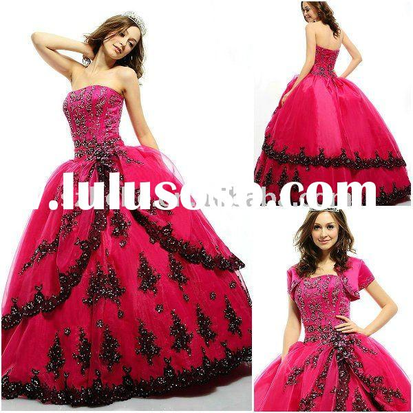 17  images about Hot pink and black dresses on Pinterest  Hot ...
