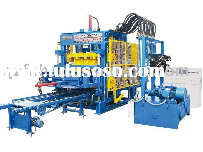 QT6-15 fully automatic hydraulic block brick making machine