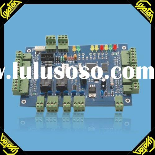 RS232/RS485 Security Card Reader Gate Access Control Board System with Power supply and Converter to
