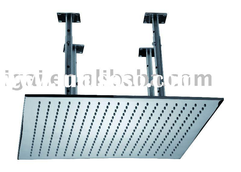 Rain shower head, top shower head, rainfall shower head, overhead shower