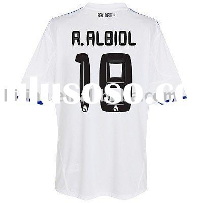 Real Madrid Team Home Football Jersey Wholesale