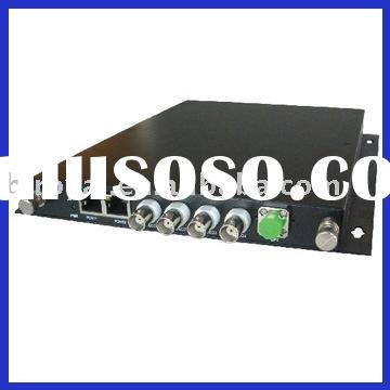 Royal 4 Channel Video Audio Data Ethernet Optical Multiplexer