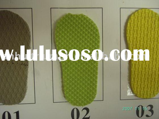 Rubber Foam Eva Sheet For Shoe Sole Or Other Usage disposable hotel slipper