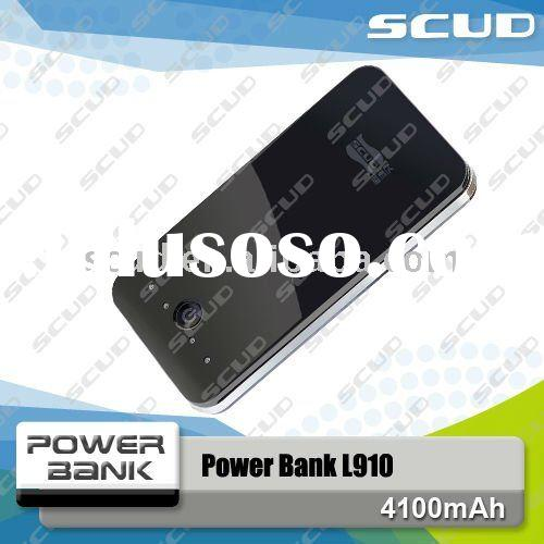 SCUD External Battery Pack 4100 mah power bank for iPhone, iPad, iPod, Blackberry