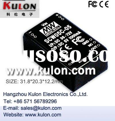 SCW05C-05 DC/DC Converter Switching Power Supply