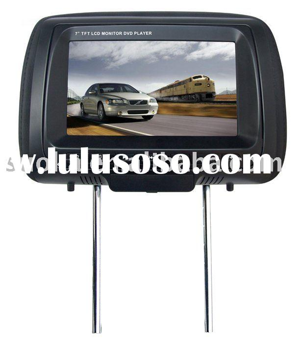 "SK-723 7"" HEADREST TFT LCD MONITOR WITH DVD PLAYER"
