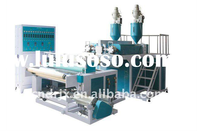SLW-500X2 Double Layer Co-extrusion LLDPE Stretch Film Machine