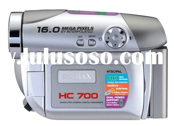 Silver Digital Camera/Camcorder/Video HC700 SD card External Memory