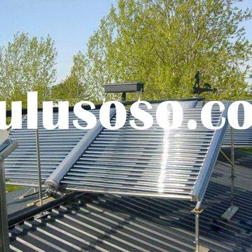 Solar Hot Water Heater Collector solar water heater flat plate from Sunhome (CE ISO Solarkeymark)