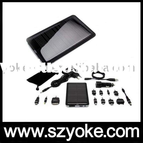 Solar Power Bank,with LED Flashlight / torch,for Mobile Phone,MP3,MP4,PDA,Camera