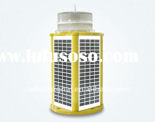 Solar powered L810 LED obstruction light/solar aircraft warning light