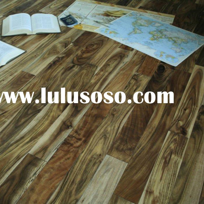 Solid Acacia Natural color Hardwood Flooring, T&G