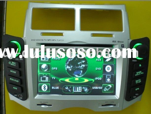 Special car dvd with gps for Toyota Yaris,DJ-1006TGPS