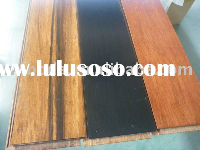 Stained Click Strand Woven Bamboo Flooring