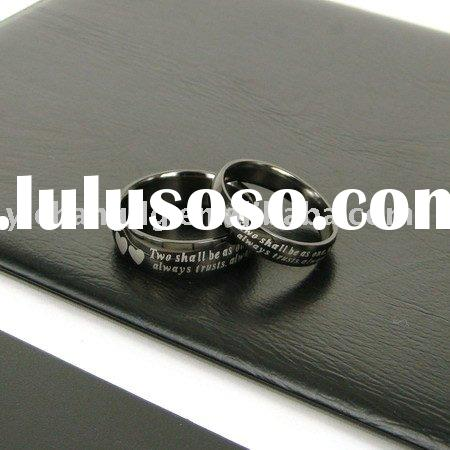 Stainless steel band ring jewelry