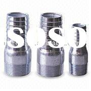 Stainless steel seamless pipe fittings and nipple
