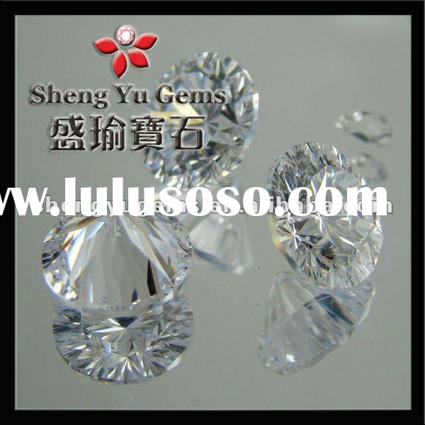 Star Cut Cubic Zirconia CZ Artificial Gems for Imitation Jewelry CZRD0015 (4)