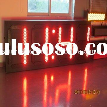 Supply LED Timer/Temperature Display(indoor & outdoor)