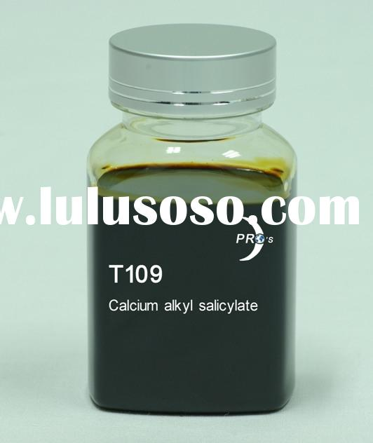 T109 Calcium alkyl salicylate/ Detergent/ industrial lubricants/ lubricant additive/ engine oil addi