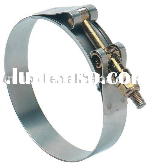 Stainless steel heavy duty hose clamp