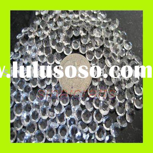 Table Clear Acrylic Diamond Confetti Scatters