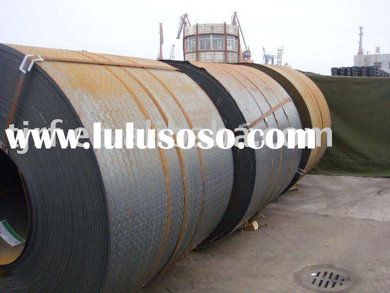 Tanggang Prime Hot Rolled Steel Chequered Coil / Sheet