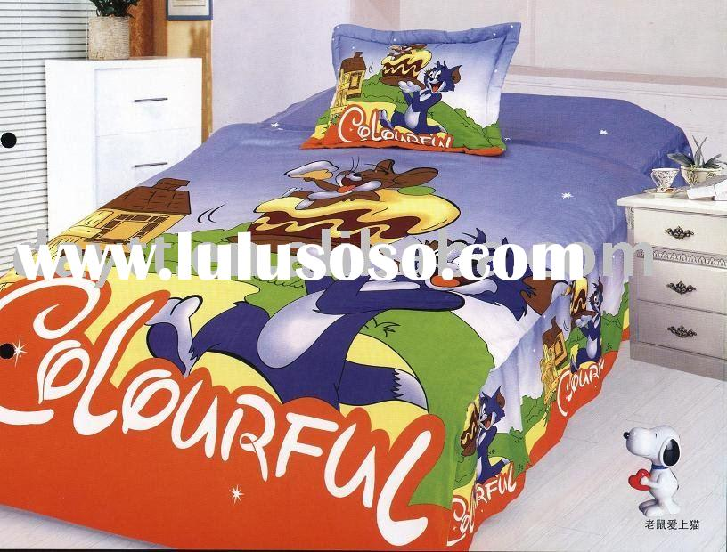 Tom and Jerry Children Bedding Set D028 on sale wholesale & drop shipping