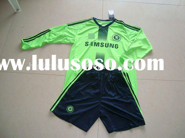 Top Quality 2011Season chelsea long sleeve soccer jersey
