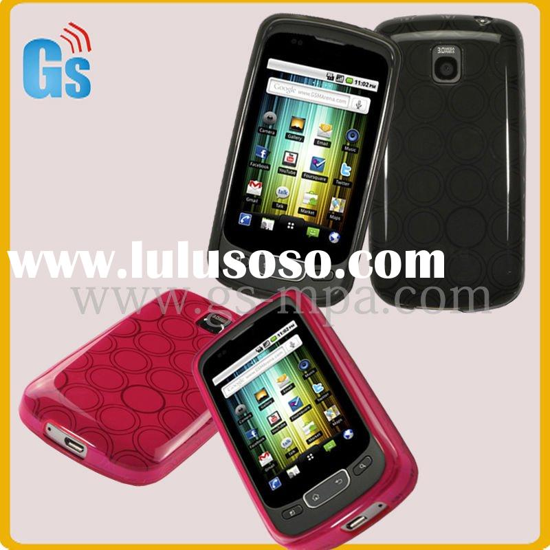 Tpu bubble mobile phone case for LG optimus one p500